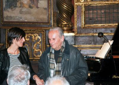 Con Gaetano Giani Luporini. Festival CLUSTER 2017