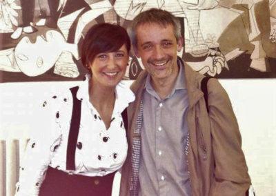 Con Alfonso Alberti. Milano Piano City 2018. Maggio 2018