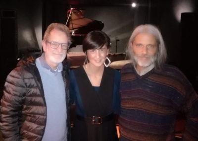 Con Fabrizio Ottaviucci e Paolo Carradori. Area Sismica, Festival di musica contemporanea 2018.