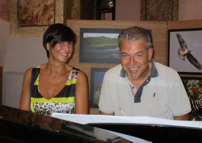 Con Paolo Zampini. Abruzzo, agosto 2017.
