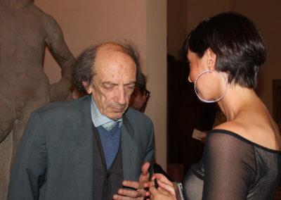 Con Giancarlo Cardini. Festival G.A.M.O. 2018