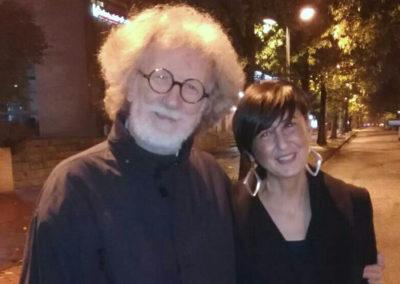 Con Mario Gamba. Area Sismica, Festival di musica contemporanea 2018