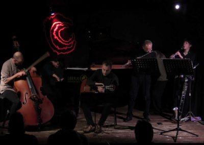 Area Sismica. Festival di musica contemporanea 2018. Con Fabrizio Ottaviucci, Roberta Gottardi, Giacomo Piermatti, Yuri Ciccarese, DonatoD'Antonio
