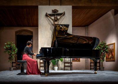Recital pianistico 9 luglio 2019, Cetosa di Firenze. Musiche di C.Debussy, E.Satie, Carlo Galante. Ph. Claudio Minghi