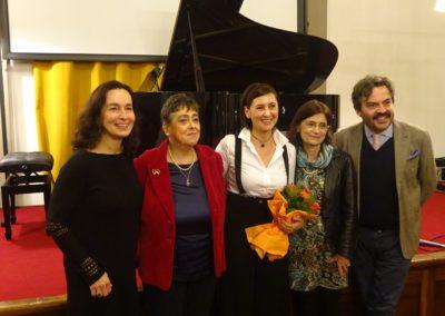 4 novembre 2019. Opere inedite dal Fondo Prosperi. Con Eleonora Negri, Giuliana Prosperi, Gloria Manghetti, Francesco Gesualdi. Ph. Claudio Minghi