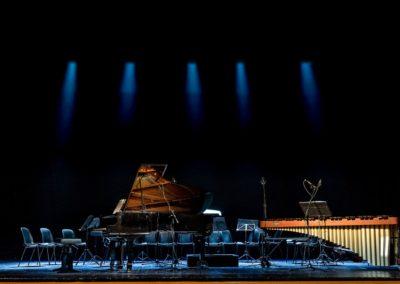 Il concerto dell'arcobaleno di Carlo Prosperi per pianoforte, marimba e archi. Ph. Claudio Minghi