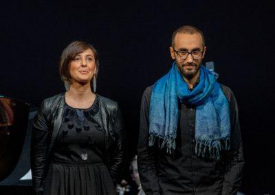 Il concerto dell'arcobaleno di Carlo Prosperi. Con Omar Cecchi. Ph. Claudio Minghi
