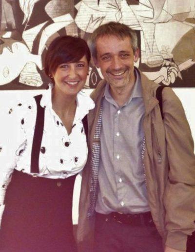 Con Alfonso Alberti. MaMu, Milano. Maggio 2018.
