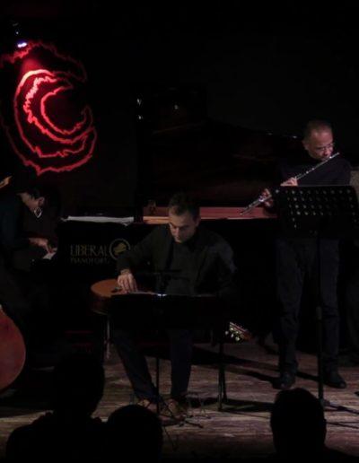 Area Sismica. Festival di musica contemporanea 2018. Con Fabrizio Ottaviucci, Giacomo Piermatti, Roberta Gottardi, Donato D'Antonio e Yuri Ciccarese.