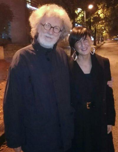 Con Mario Gamba. Area Sismica, Festival di musica contemporanea 2018.