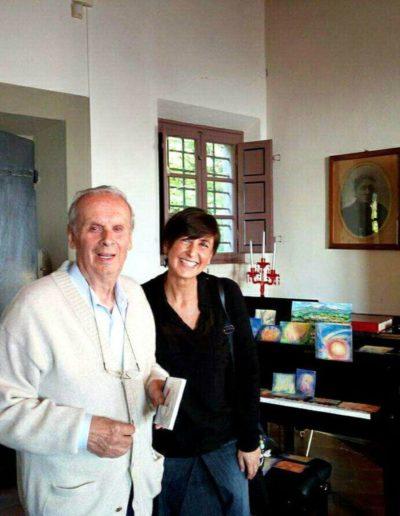 Con Gaetano Giani Luporini