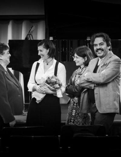 4 novembre 2019. Opere inedite dal Fondo Prosperi. Con Giuliana Prosperi, Gloria Manghetti, Francesco Gesualdi. Ph. Claudio Minghi