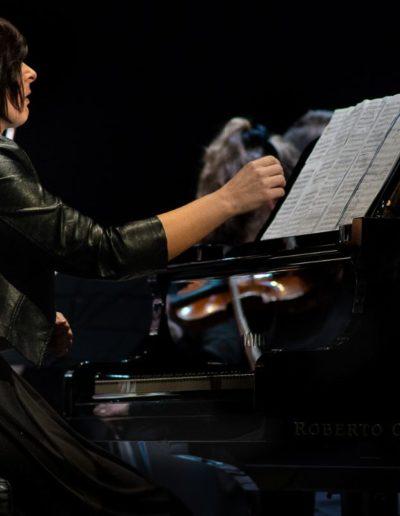 Il concerto dell'arcobaleno di Carlo Prosperi. Ph. Claudio Minghi