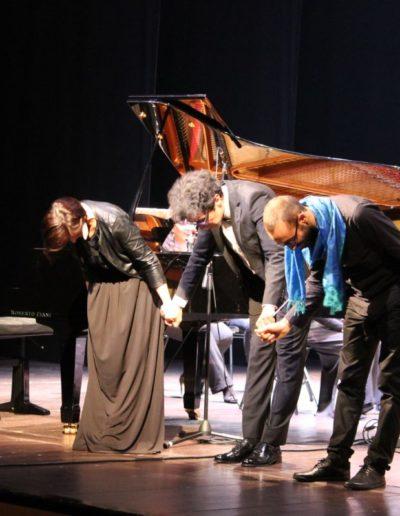 Il concerto dell'arcobaleno di Carlo Prosperi. Con Nima Keshawarzi, Omar Cecchi, orchestra La Filharmonie. Ph. Andrea Politi
