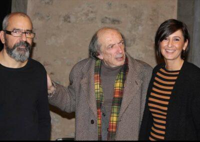 Con Giancarlo Cardini e Marco Lenzi