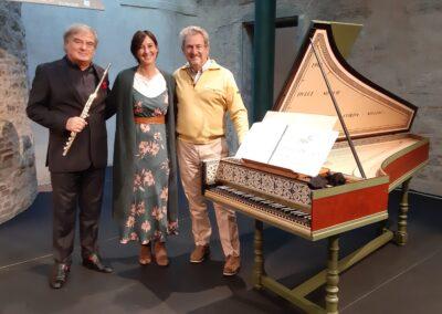 Con Roberto Fabbriciani e Alessandro Solbiati. Francesco Pennisi - carteggio per flauto, violoncello e clavicembalo