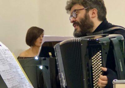 Con Francesco Gesualdi. Università dell'Andalusia. Museo di arte contemporanea La Cartuja - Siviglia